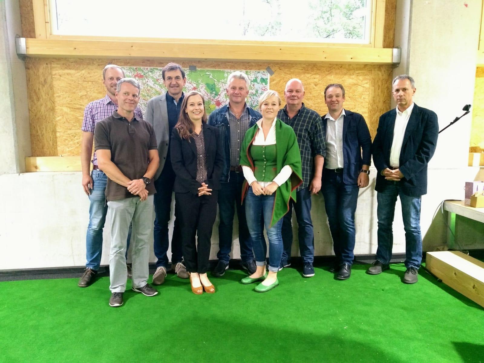 Infoveranstaltung in Helfenberg