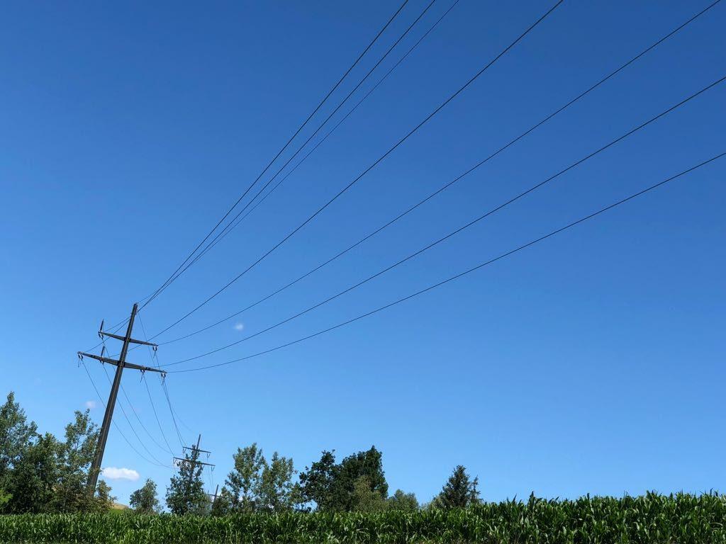 110kV-Freileitung-Masten