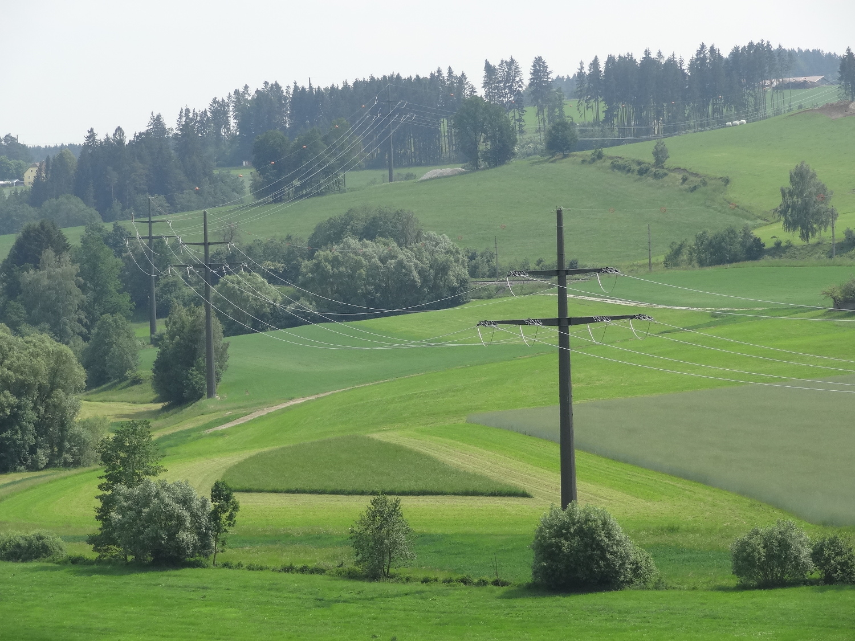 mühlviertel110kv - stromleitung - strom