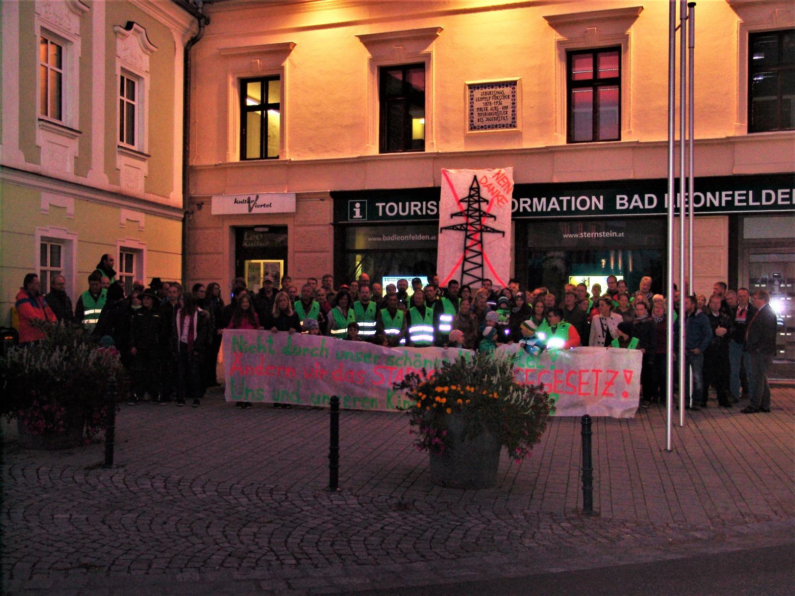 IG Landschaftsschutz Mühlviertel bei der 3. Regionskonferenz in Bad Leonfelden
