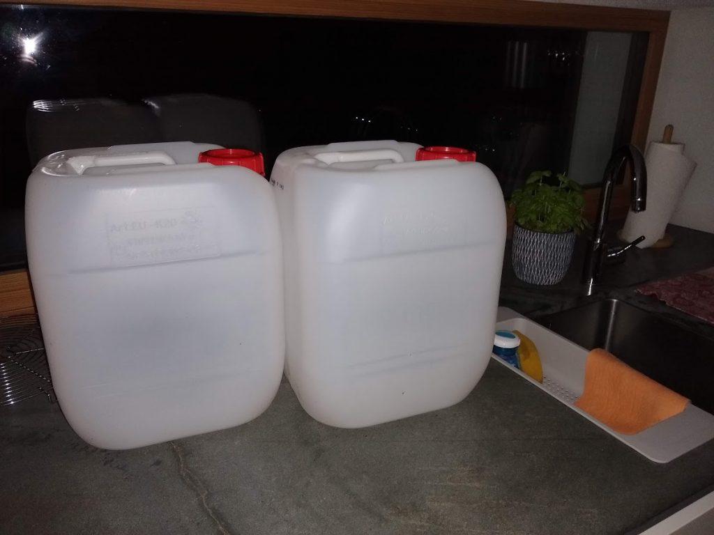 trinkwasserkanister - kein wasser aus der leitung