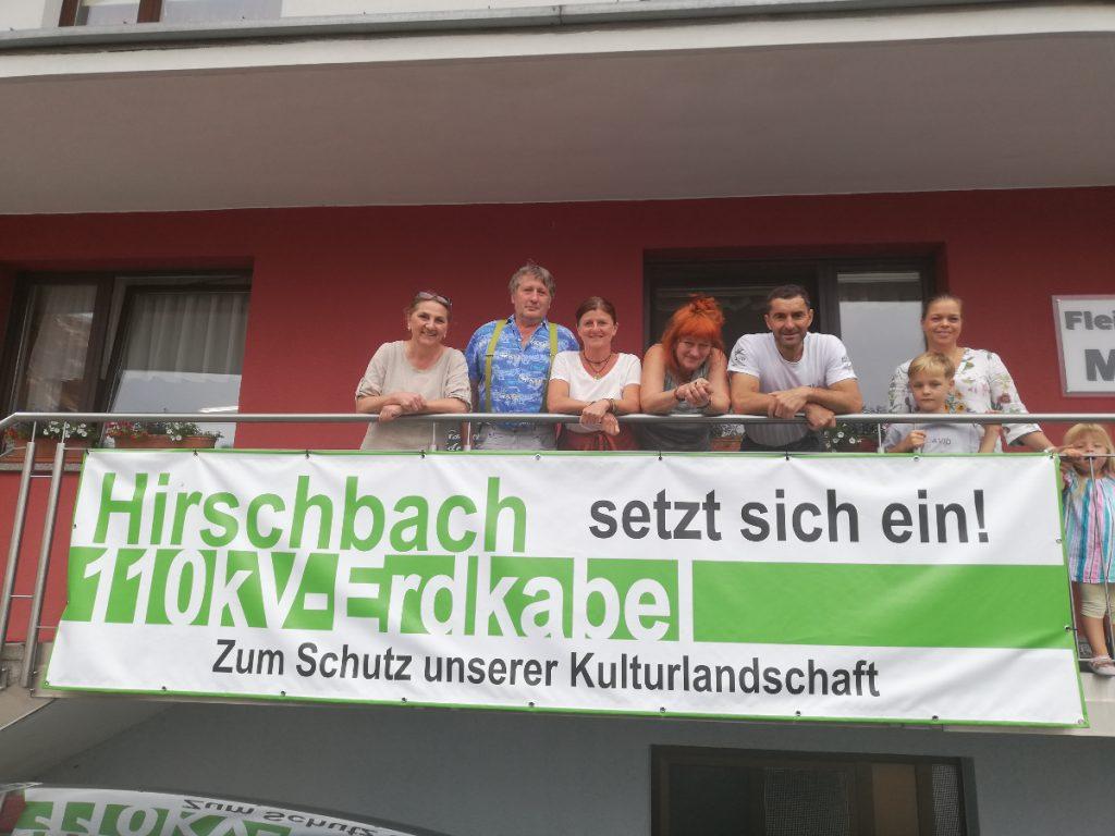 tour de erdkabel - tag 2 - hirschbach