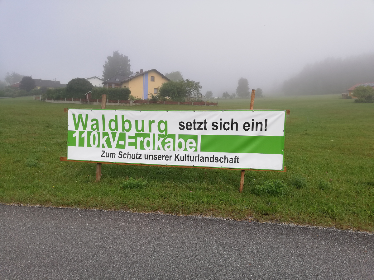 tour de erdkabel - waldburg